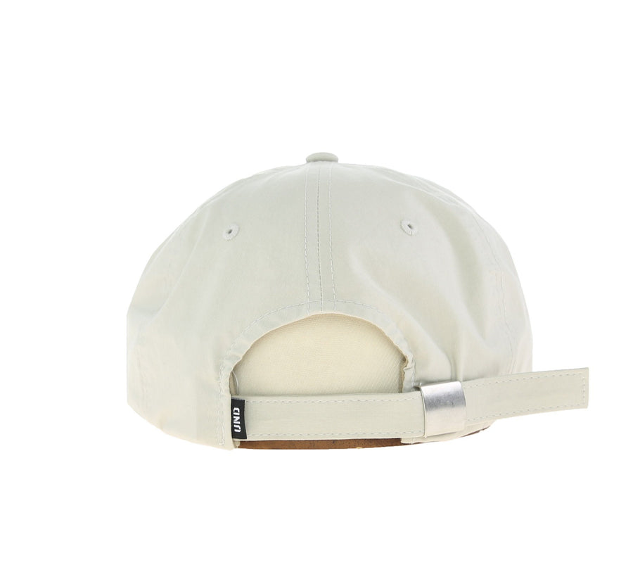 UNDFTD APPLIQUE STRAPBACK CAP, TAN