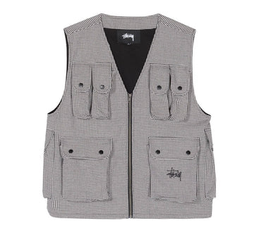 HOUNDSTOOTH WORK VEST