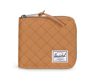 WALT QUILTED WALLET, CARAMEL