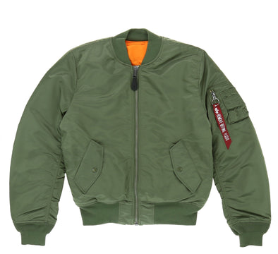 ALPHA MA-1 SLIM FIT FLIGHT JACKET