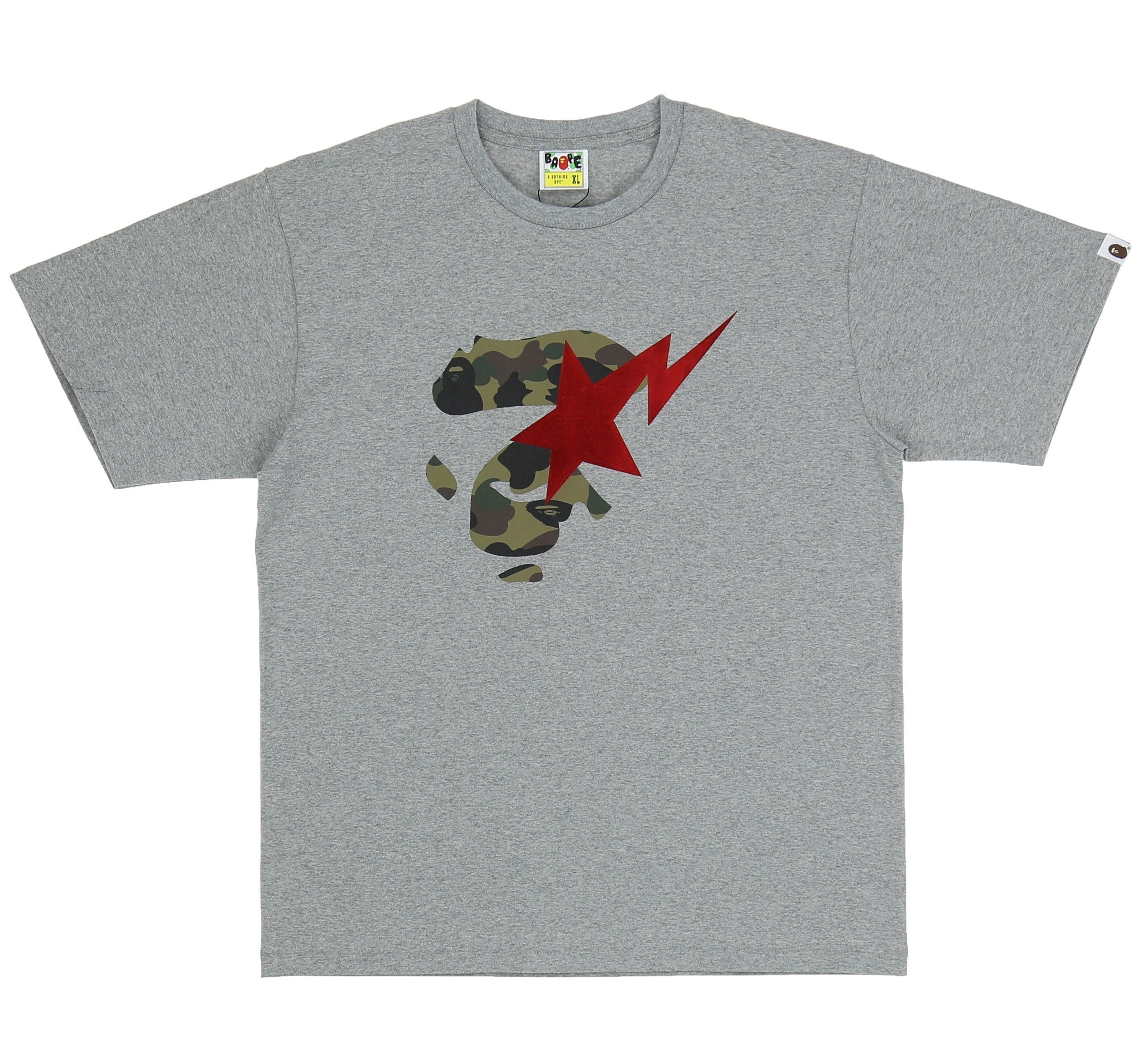 fd2a5f9600a56 1ST CAMO APE FACE ON BAPESTA TEE – SHOPATKINGS