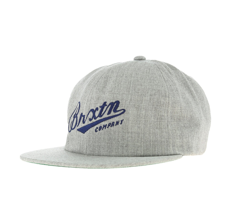 FENWAY STRAPBACK, LIGHT HEATHER GREY