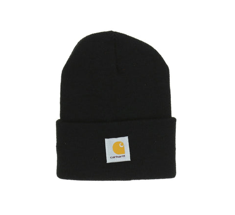 ACRYLIC WATCH HAT, BLACK
