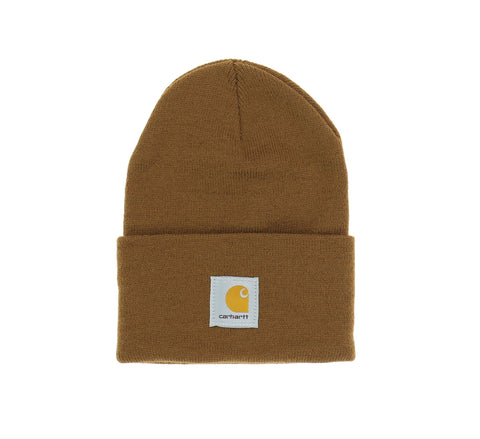 ACRYLIC WATCH HAT, CARHARTT BROWN