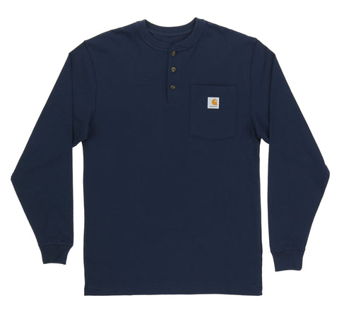 LONG SLEEVE WORKWEAR HENLEY