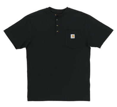 SHORT SLEEVE WORKWEAR HENLEY