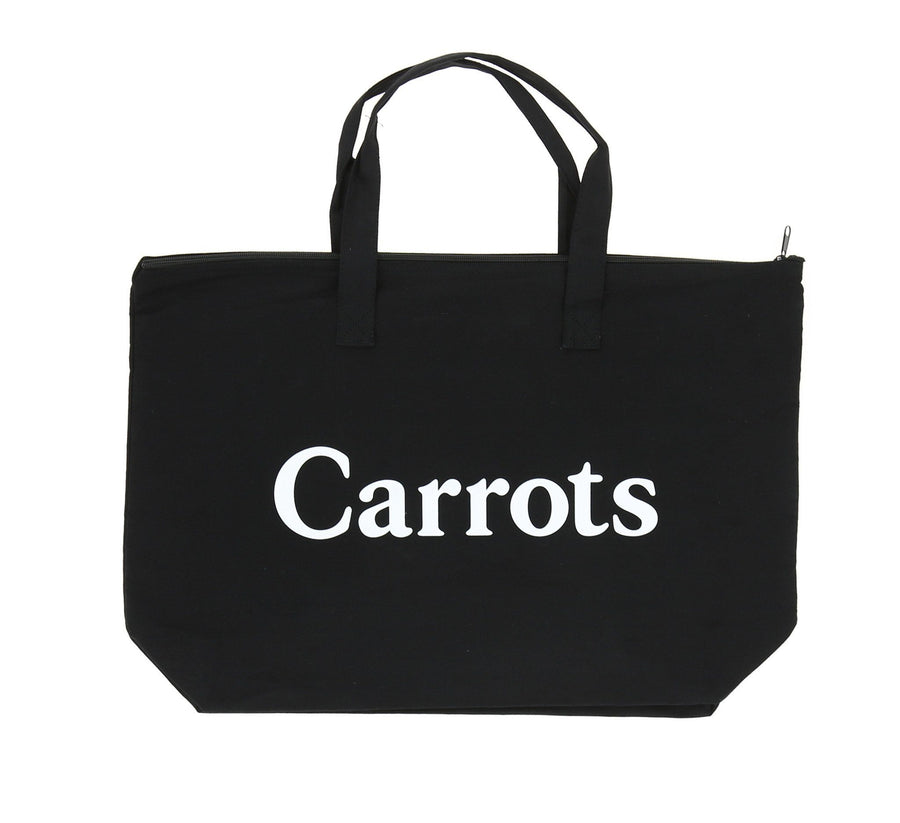CARROTS WORDMARK TOTE, BLACK