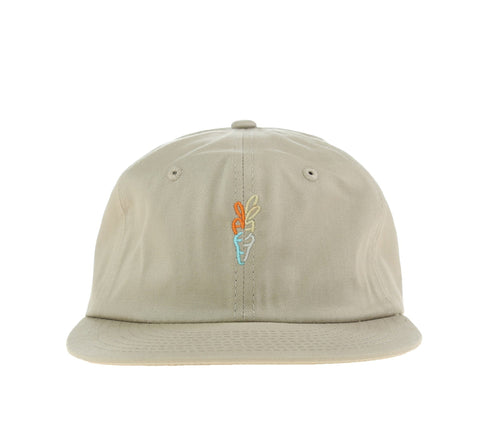 CARROTS LOGO 6 PANEL, KHAKI