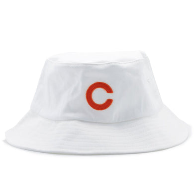 BETA-CAROTENE BUCKET HAT, WHITE