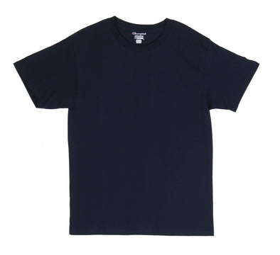 CHAMPION TAGLESS TEE, NAVY