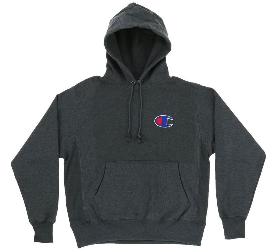 REVERSE WEAVE FLEECE PULL-OVER HOODY