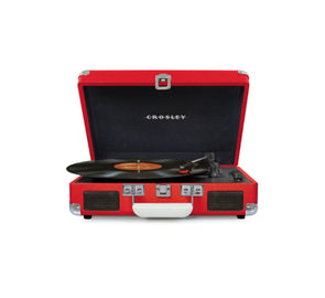 CROSLEY CRUISER TURNTABLE W/ BLUETOOTH, RED