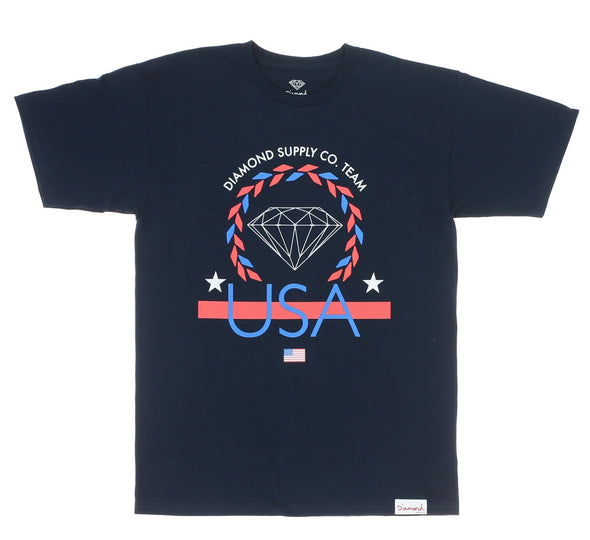 USA TEAM TEE, NAVY