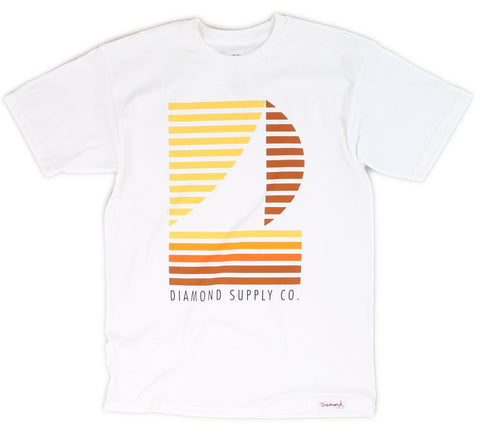 STRIPE BOAT TEE, WHITE