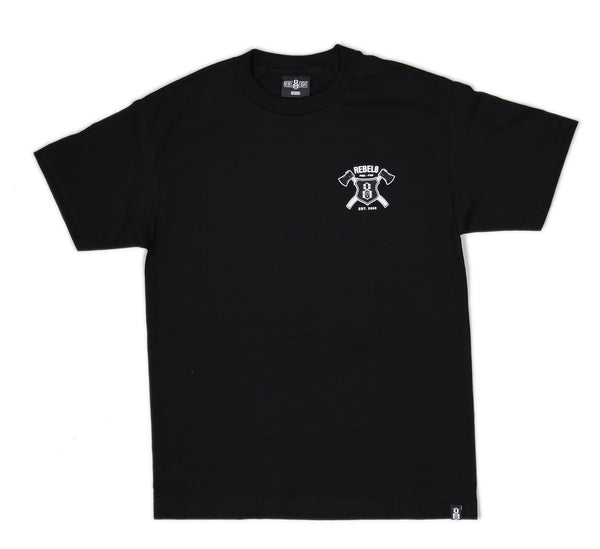 HATCHET TEE, BLACK