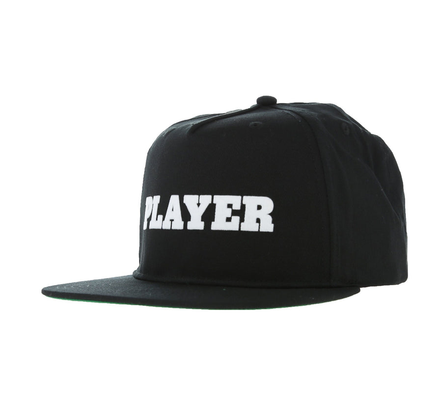 PLAYER CAP, WHITE