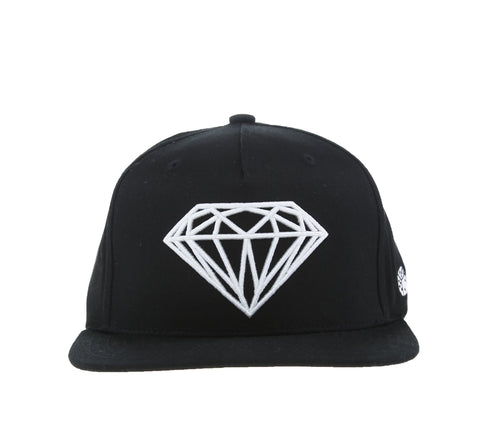 BRILLIANT SNAPBACK, BLACK