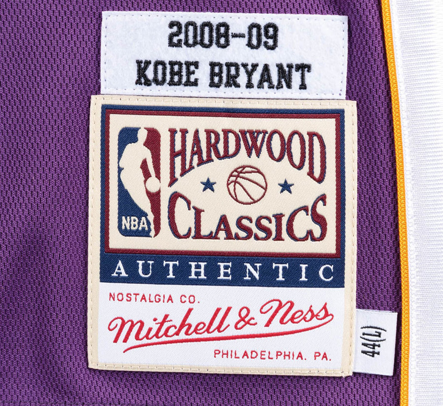 AUTHENTIC JERSEY LOS ANGELES LAKERS ROAD FINALS 2008-2009 KOBE BRYANT