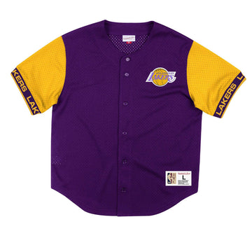 NBA PURE SHOOTER MESH BUTTON FRONT LAKERS