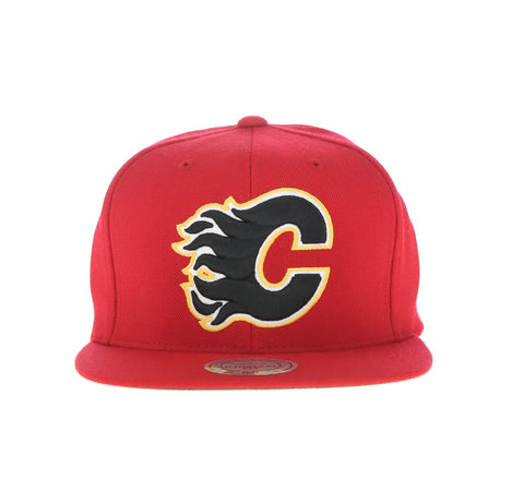 CALGARY FLAMES SNAPBACK, RED