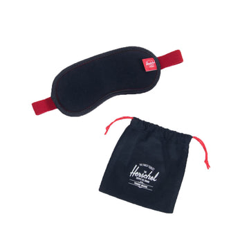 EYE MASK, NAVY/RED