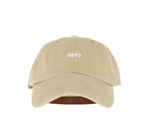 JUMBLE BAR HAT II 6 PANEL HAT, SAND