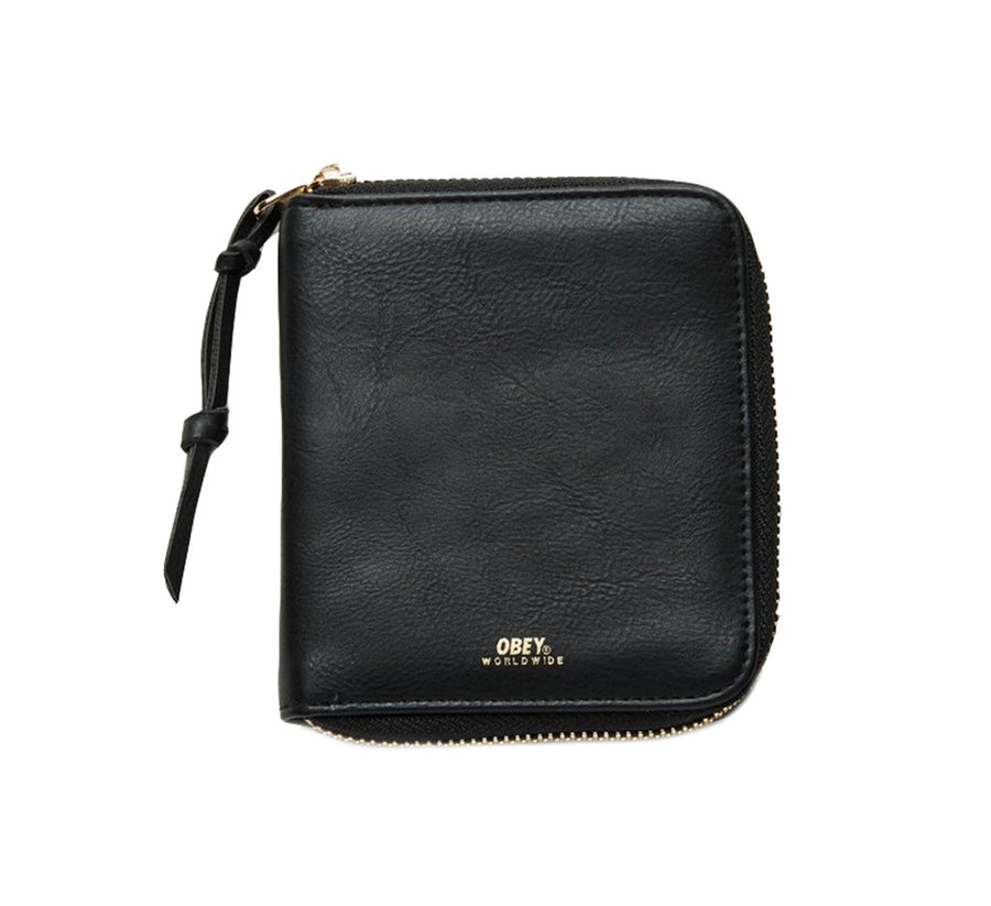 GENTRY II ZIP AROUND WALLET, BLACK