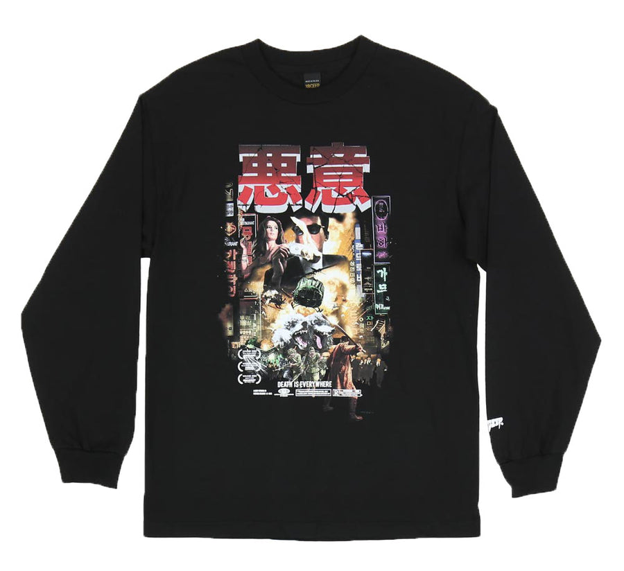 DEATH IS EVERYWHERE LONG SLEEVE