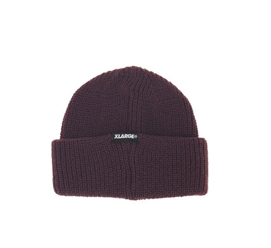 PATCHED SHORT LENGTH CUFF BEANIE