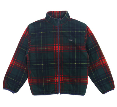 FULL ZIPPED CHECK FLEECE