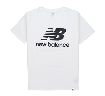 ESSENTIALS STACKED LOGO TEE