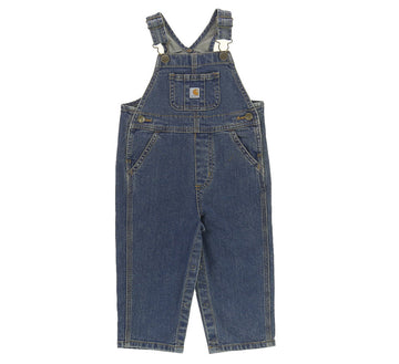 KIDS WASHED DENIM BIB OVERALL
