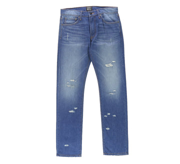 CLASSIC TWIGGY LIGHT DESTROYED WASHED DENIM