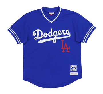 LOS ANGELES DODGERS MESH V-NECK