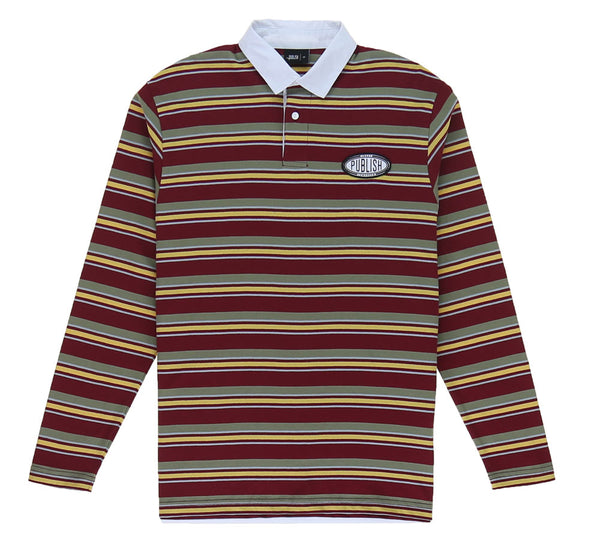 RUGIE L/S POLO