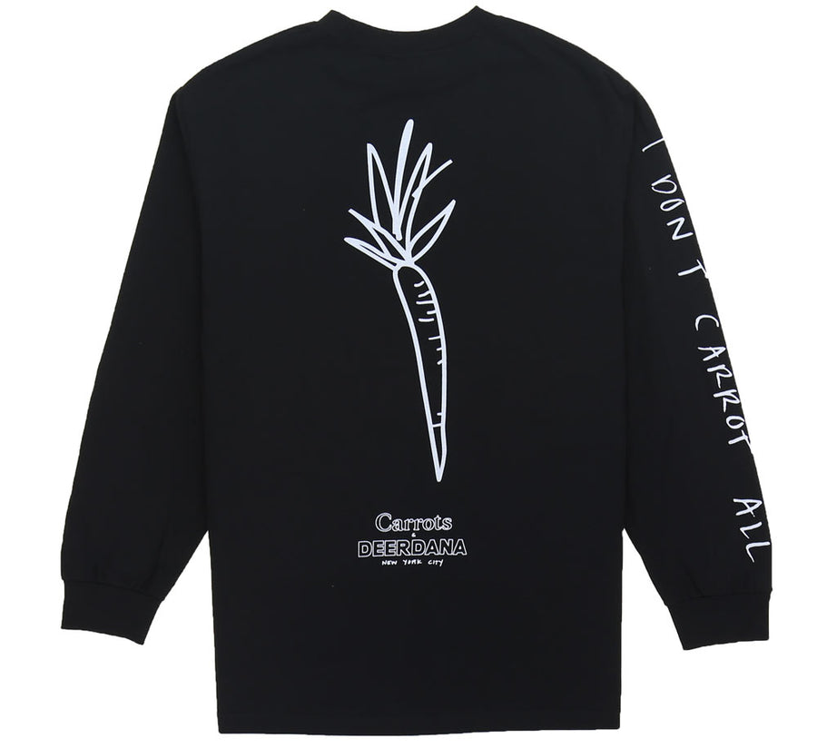 I DON'T CARROT L/S TEE