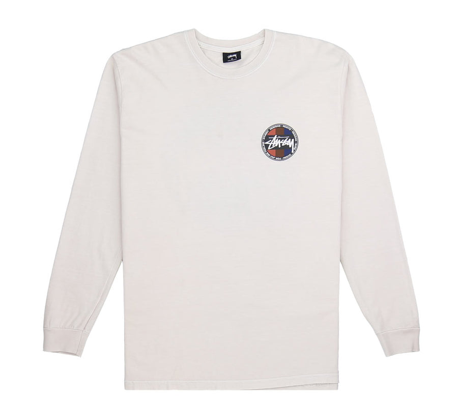 SURF DOT PIGMENT DYED L/S TEE