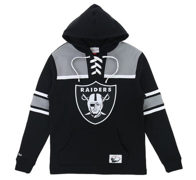 OAKLAND RAIDERS HOCKEY HOOD FLEECE