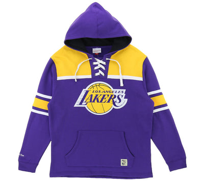 LOS ANGELES LAKERS HOCKEY HOOD FLEECE