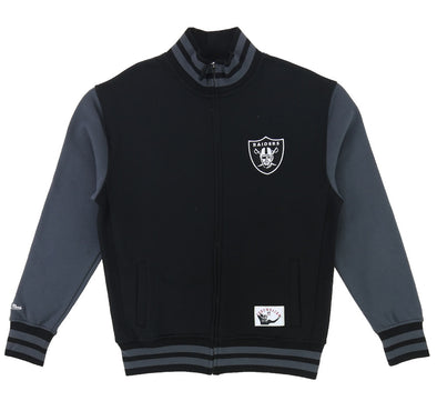 OAKLAND RAIDERS VARSITY FLEECE JACKET