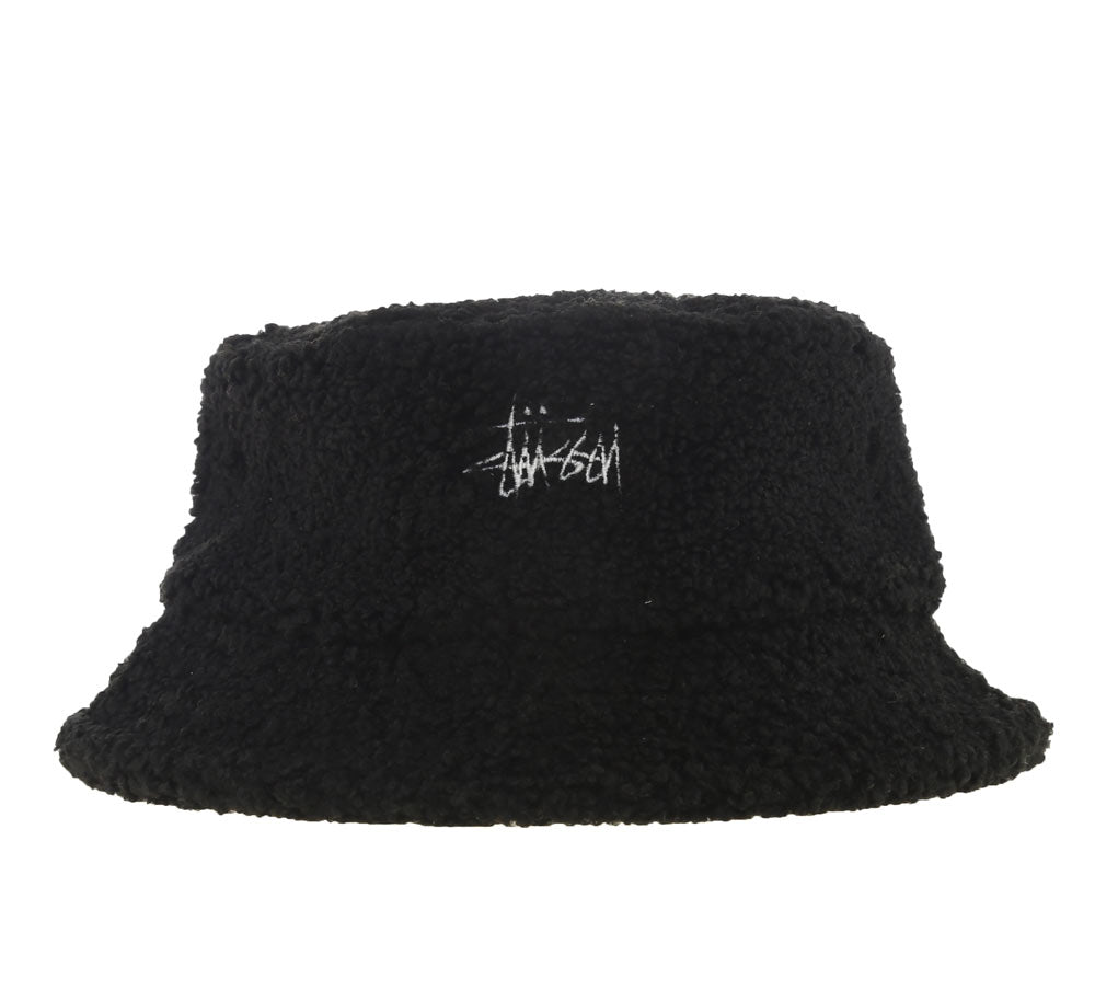 SHERPA FLEECE BUCKET HAT – SHOPATKINGS 8ead1ca8924