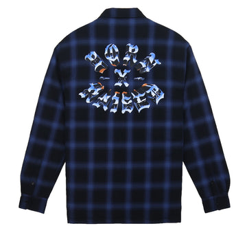 CHROME ROCKER FLANNEL