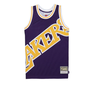 LOS ANGELES LAKERS BIG FACE FASHION JERSEY