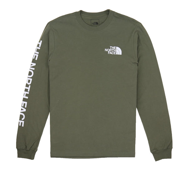 TNF LONG SLEEVE HIT L/S