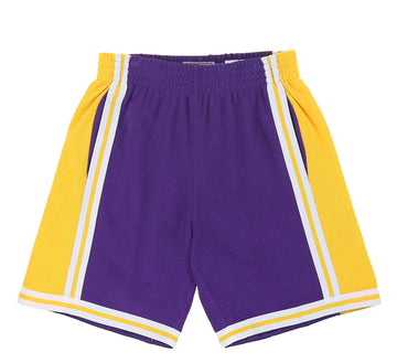 LOS ANGELES LAKERS REVERSE FLEECE SWINGMAN SHORT