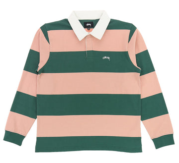 RALPHIE STRIPE LONG SLEEVE RUGBY