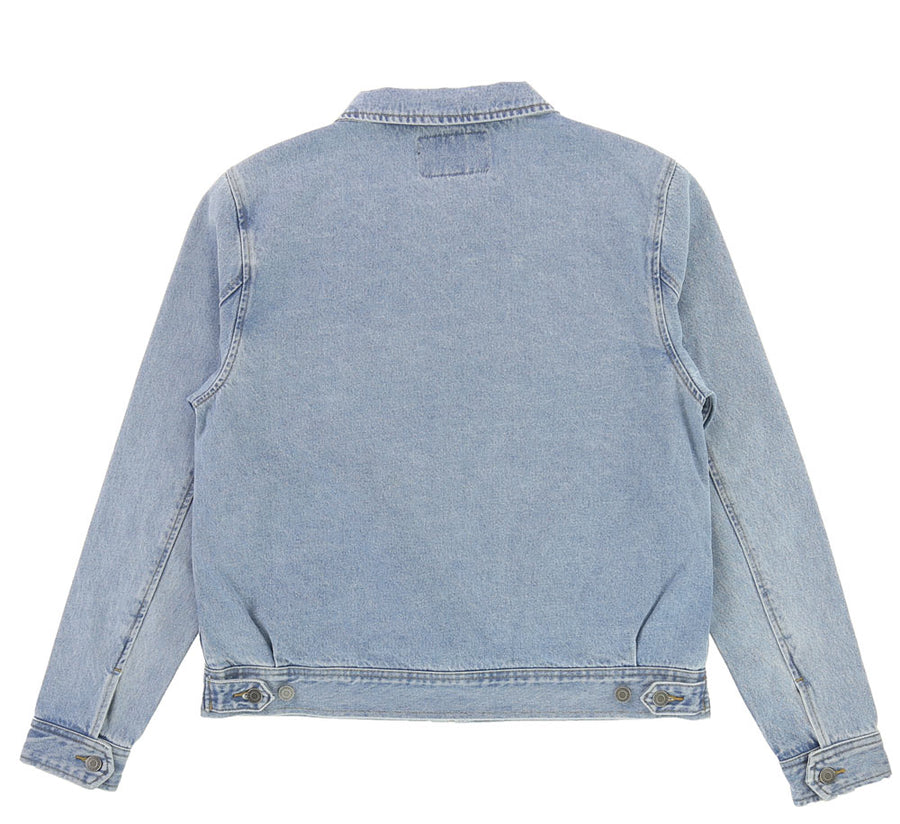 DENIM GARAGE JACKET