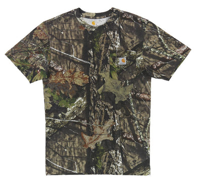 CAMO SHORT SLEEVE POCKET TEE
