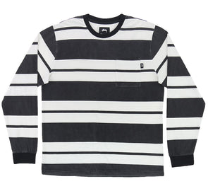 FRANKLIN STRIPE LS CREW