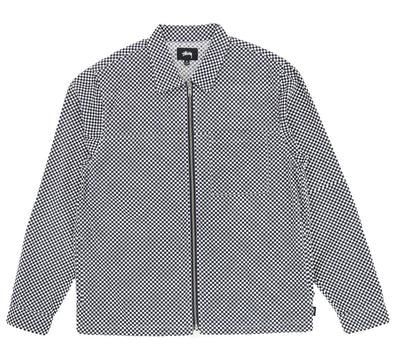 MINI CHECK FULL ZIP LS SHIRT